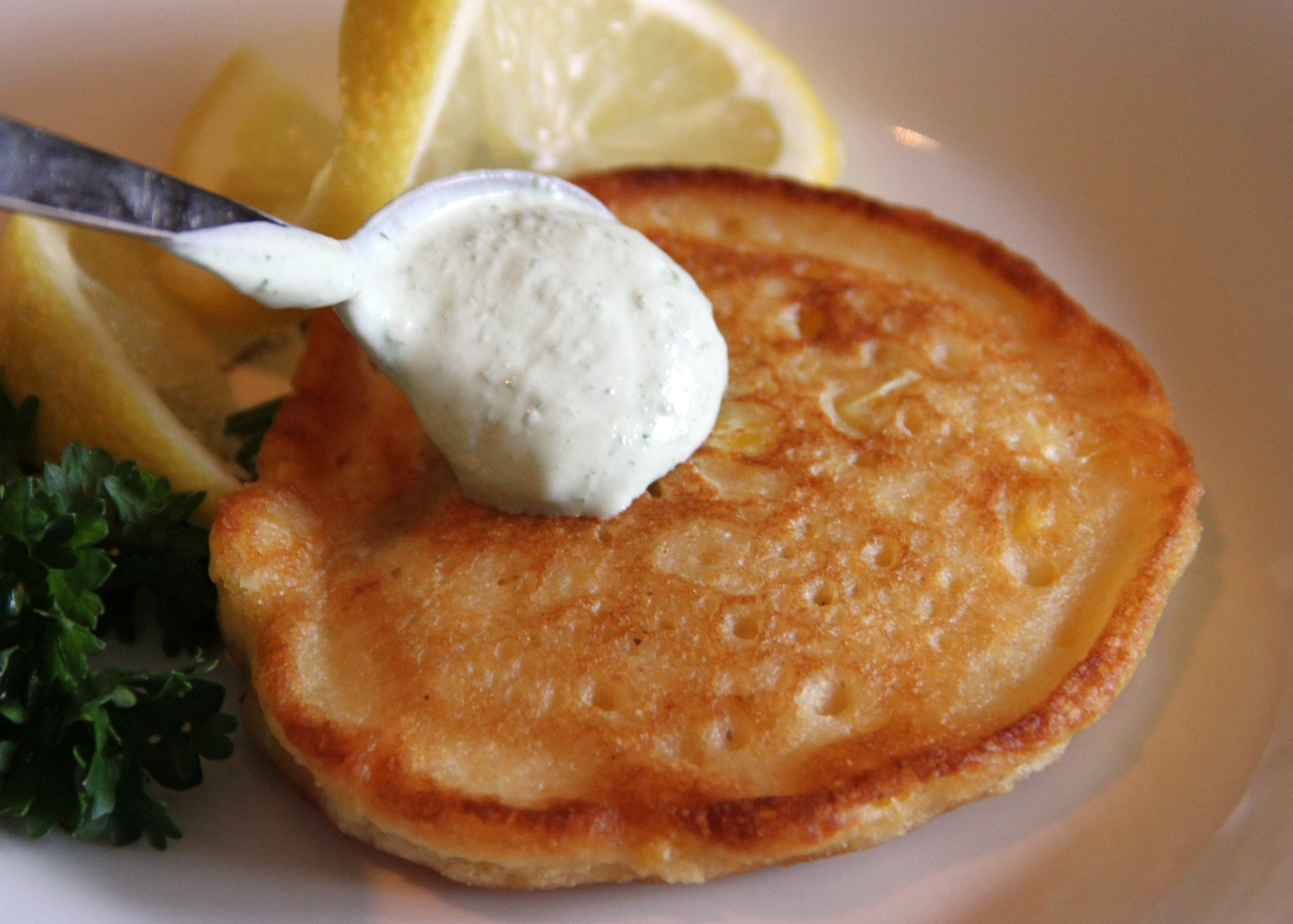 Breakfast in Bed: Sweet Corn Cakes with Smoked Salmon | CHARLES P ...