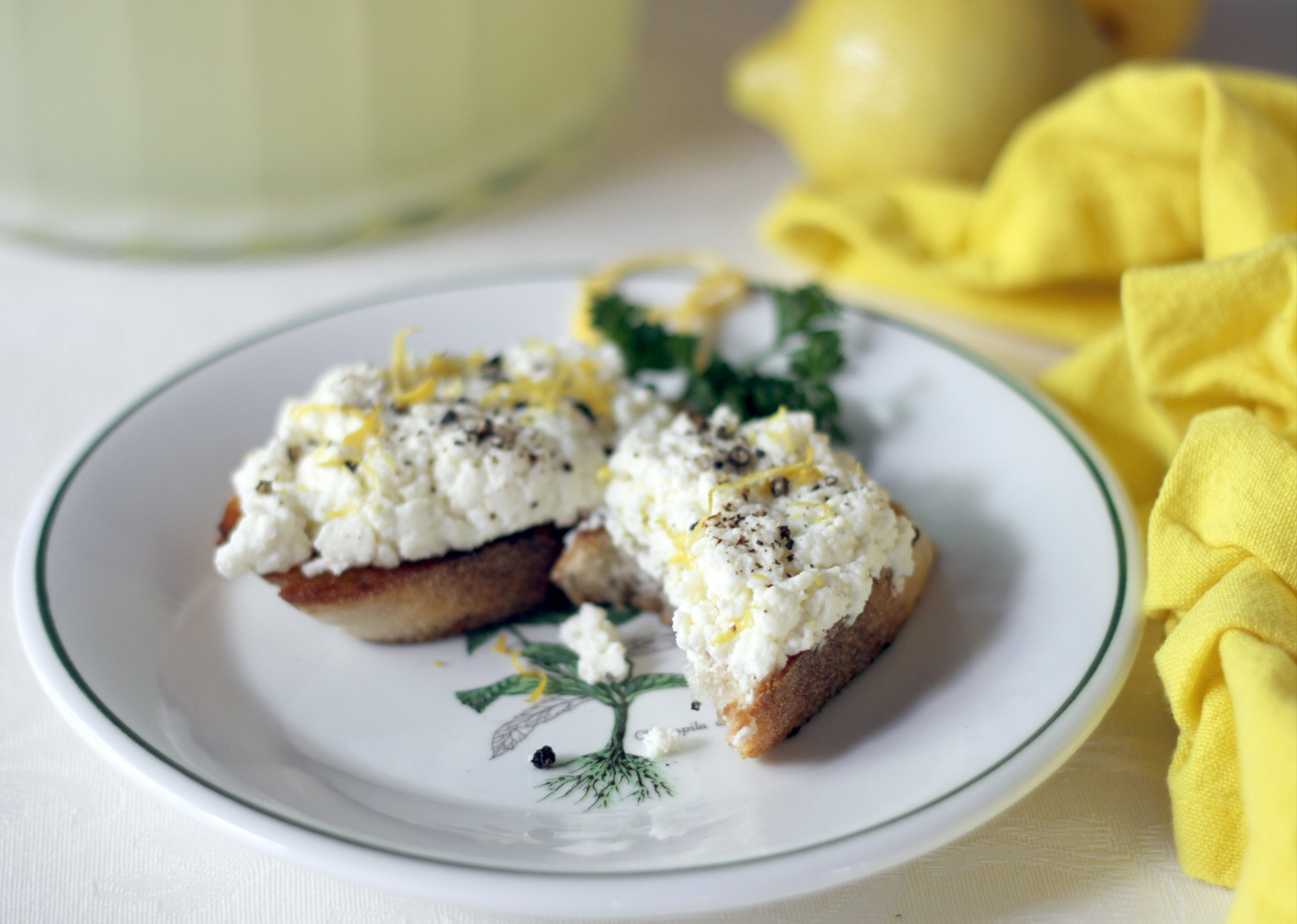 Ricotta Cheese-Breakfast in Bed-Breakfast Recipe-Family-Charles P ...