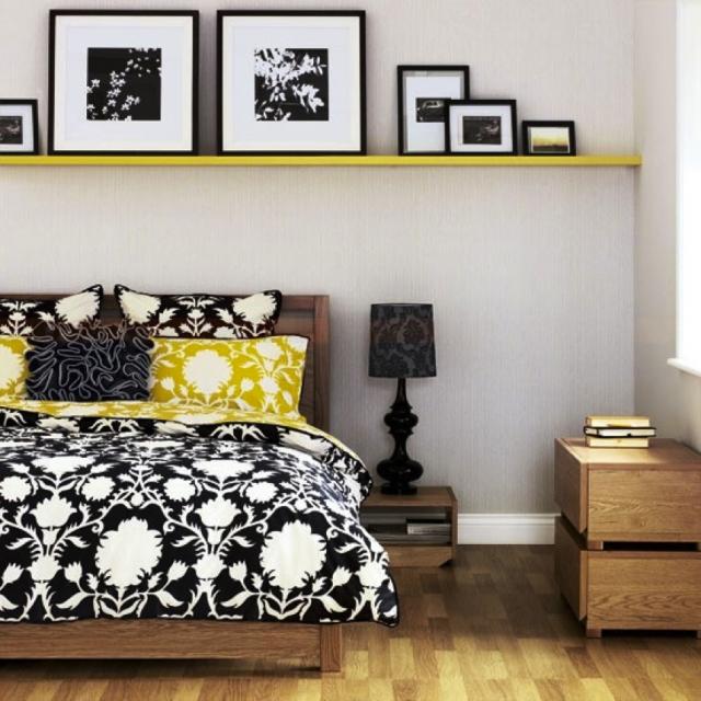 Simple Bedroom Shelves simple shelving | charles p. rogers bed blog