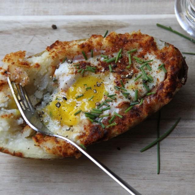 Breakfast in Bed: Twice-Baked Breakfast Potatoes | CHARLES P. ROGERS ...