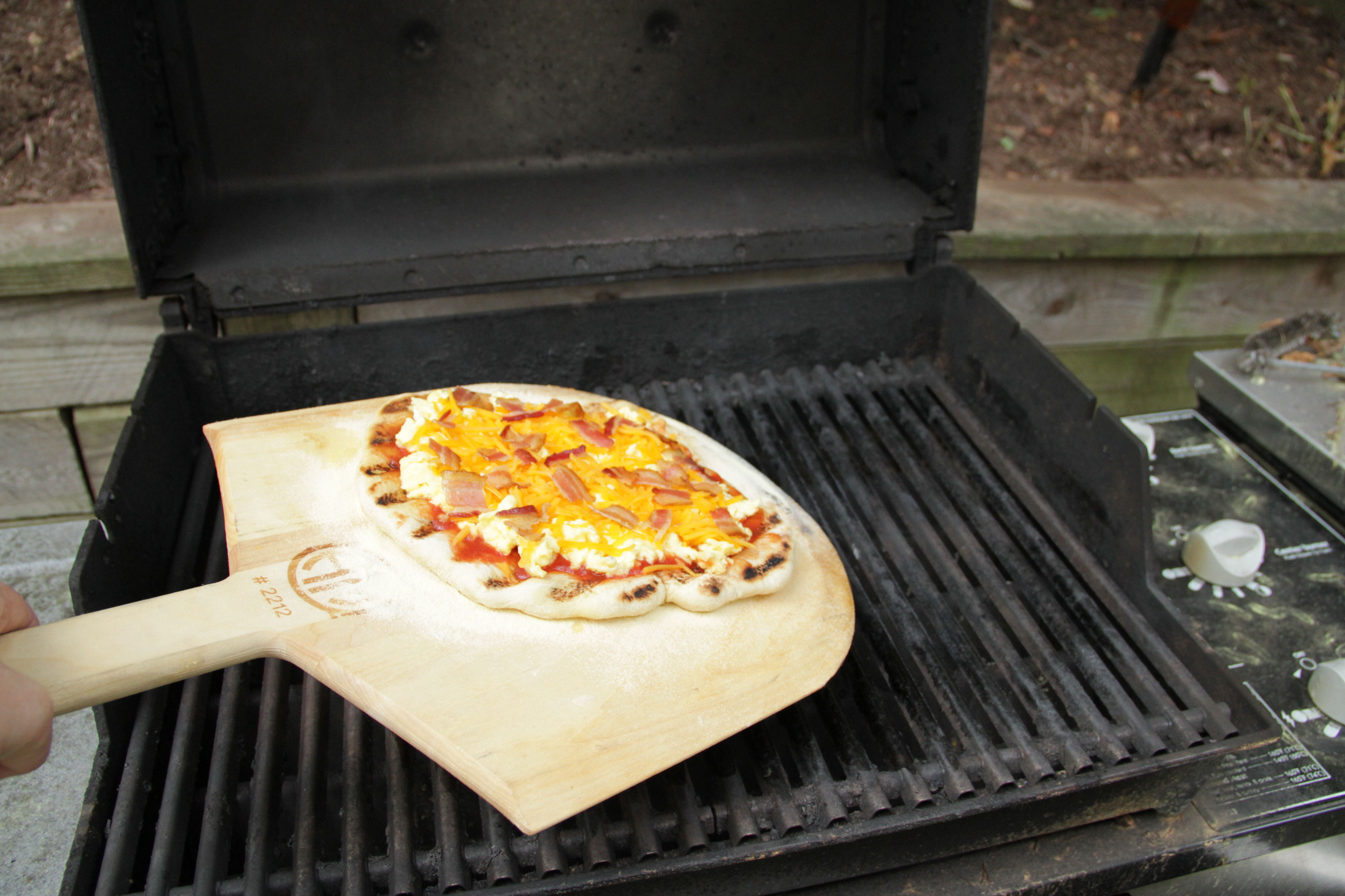 Grilled Breakfast Pizza 5