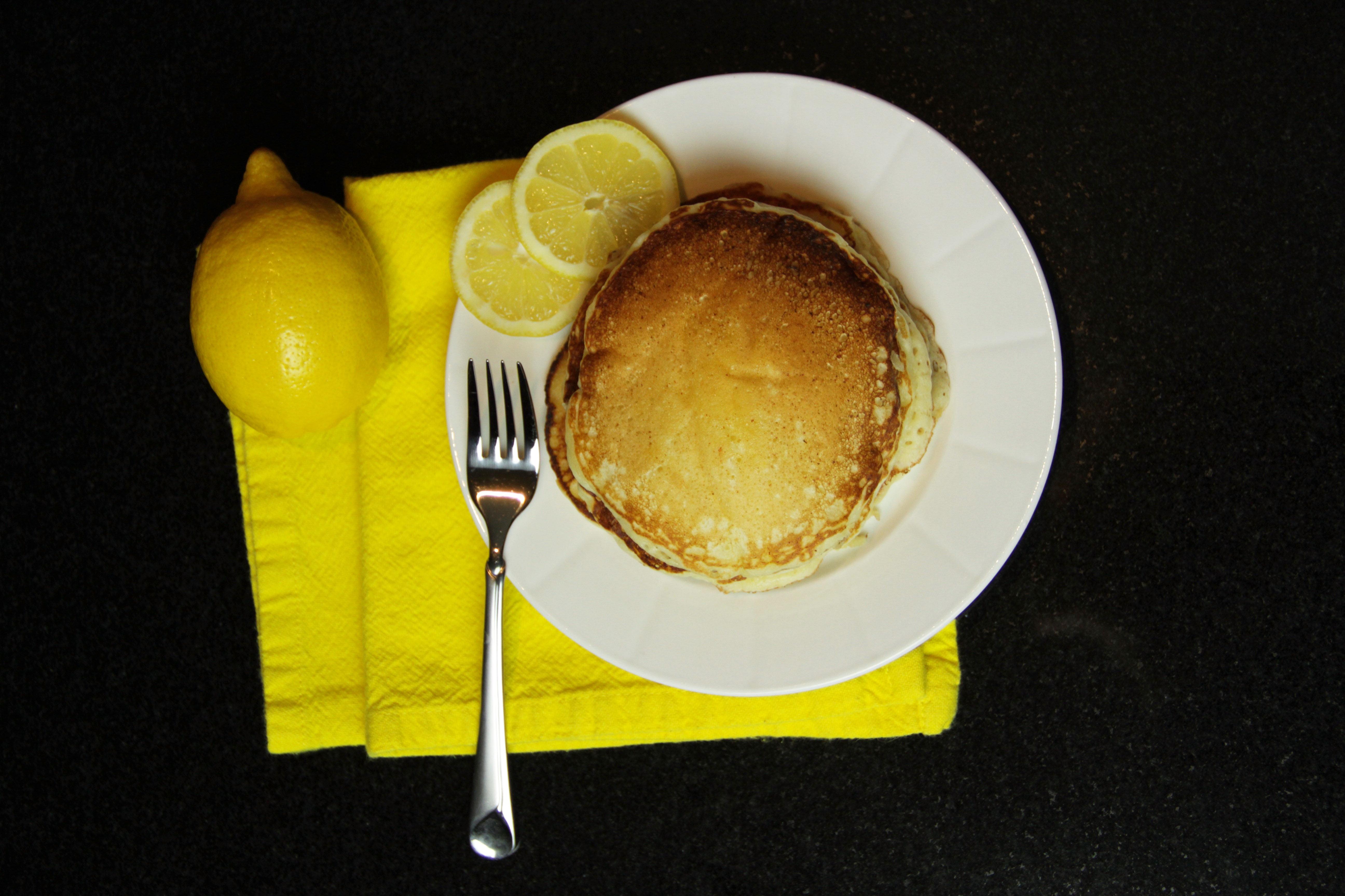 Lemon Ricotta Pancakes 10