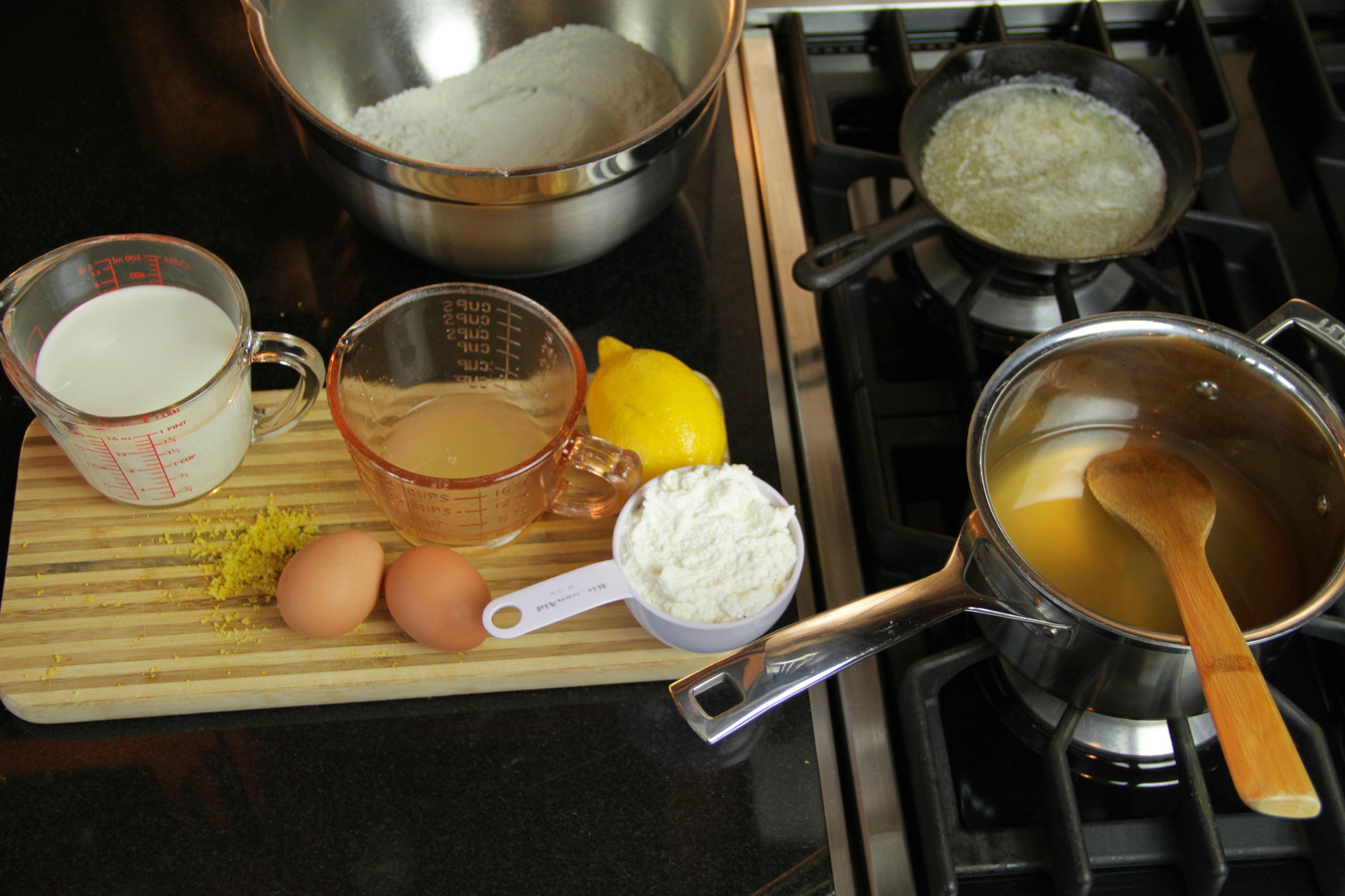 Lemon Ricotta Pancakes 6