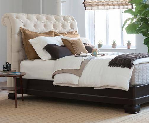 Hampton Linen bed