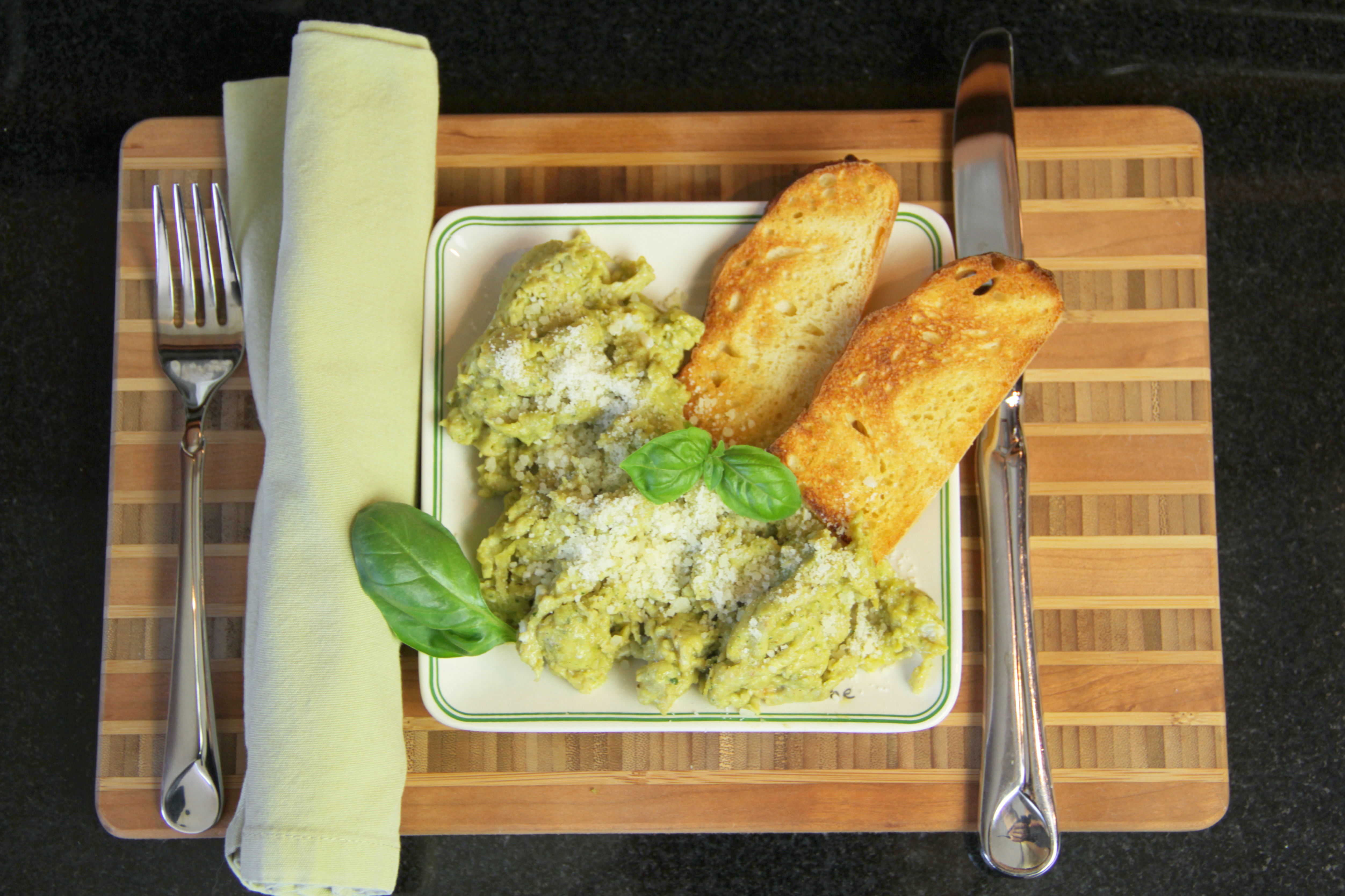 Thai Basil Pesto Scrambled Eggs 9