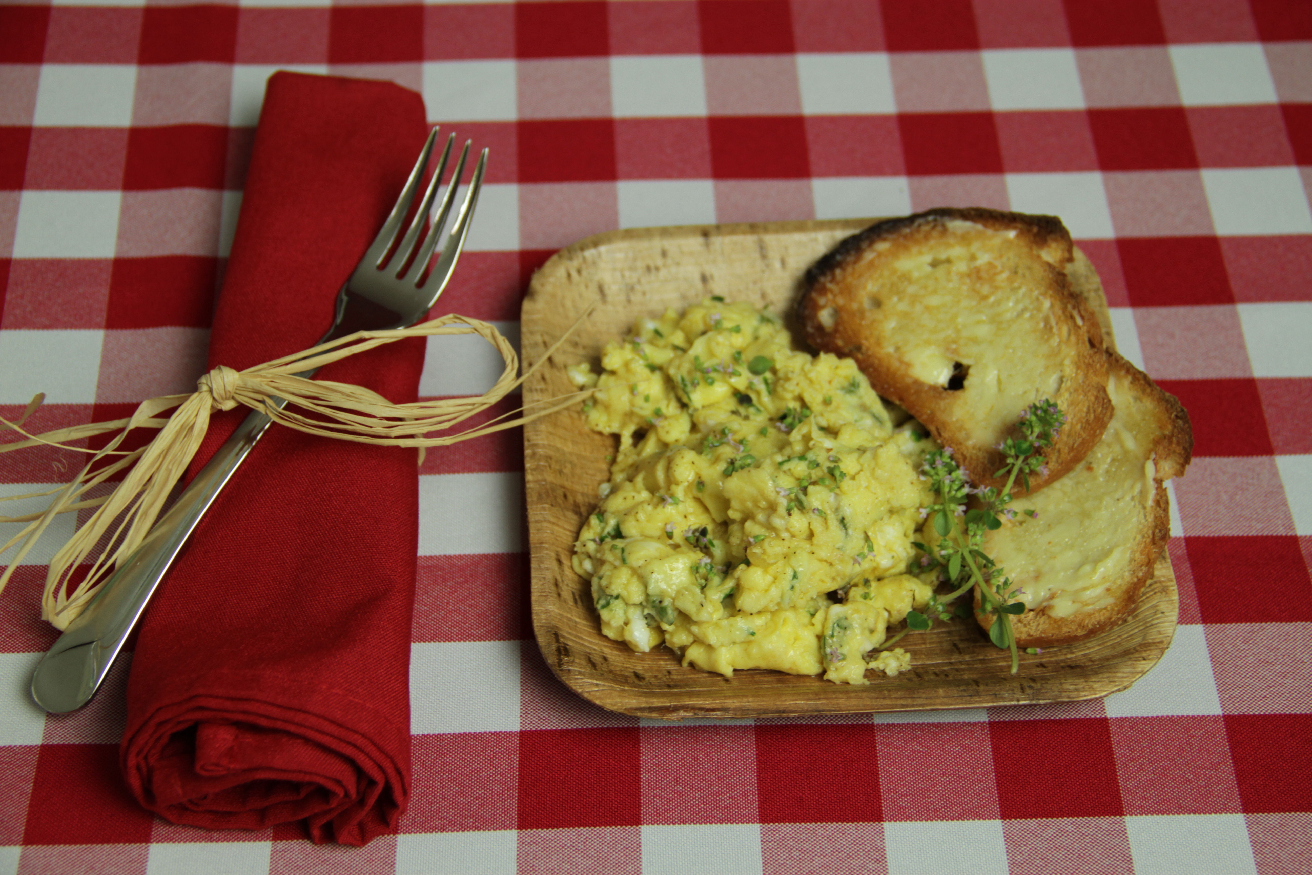 Scrambled Eggs with Thyme 8