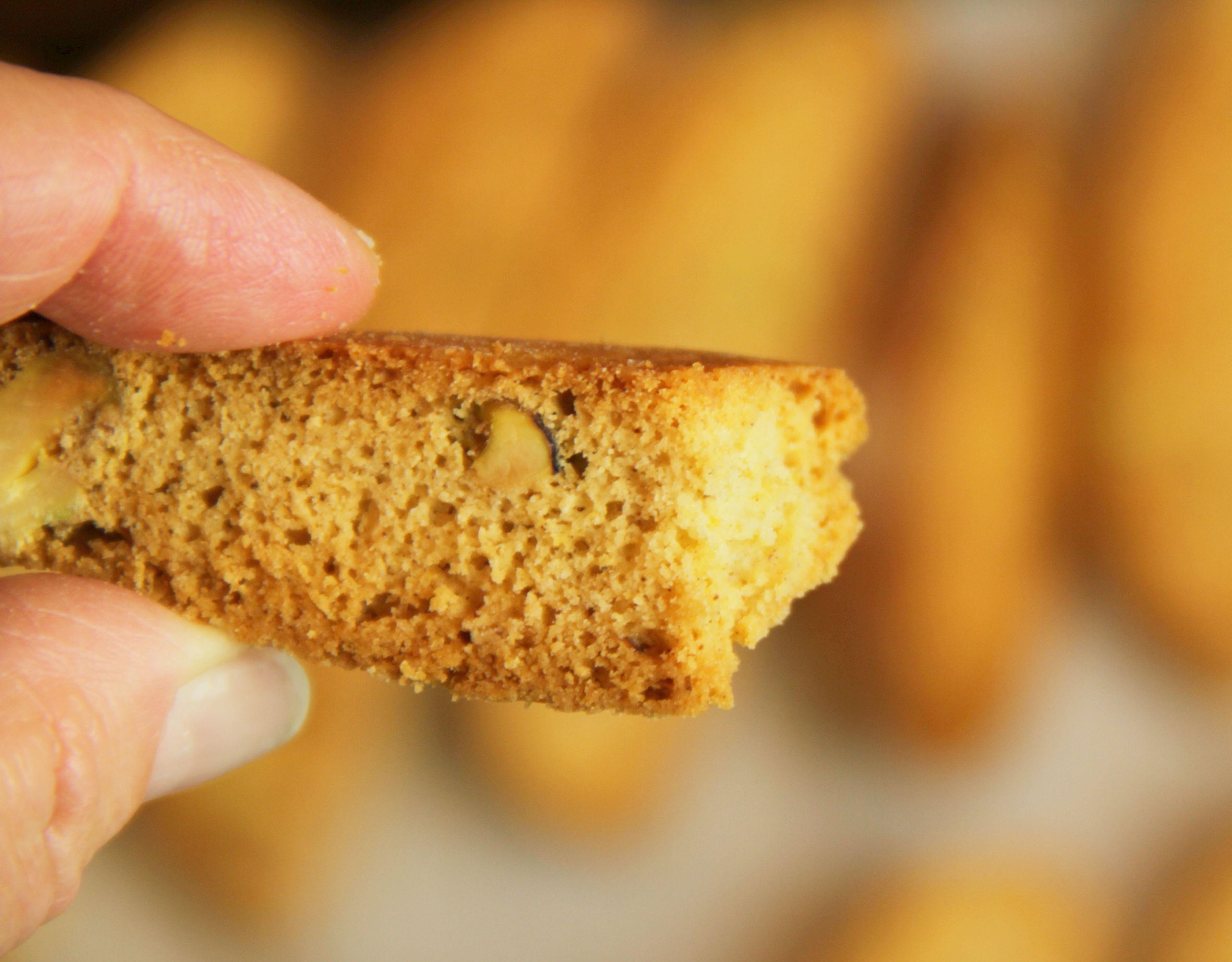 Pistachio Biscotti 9