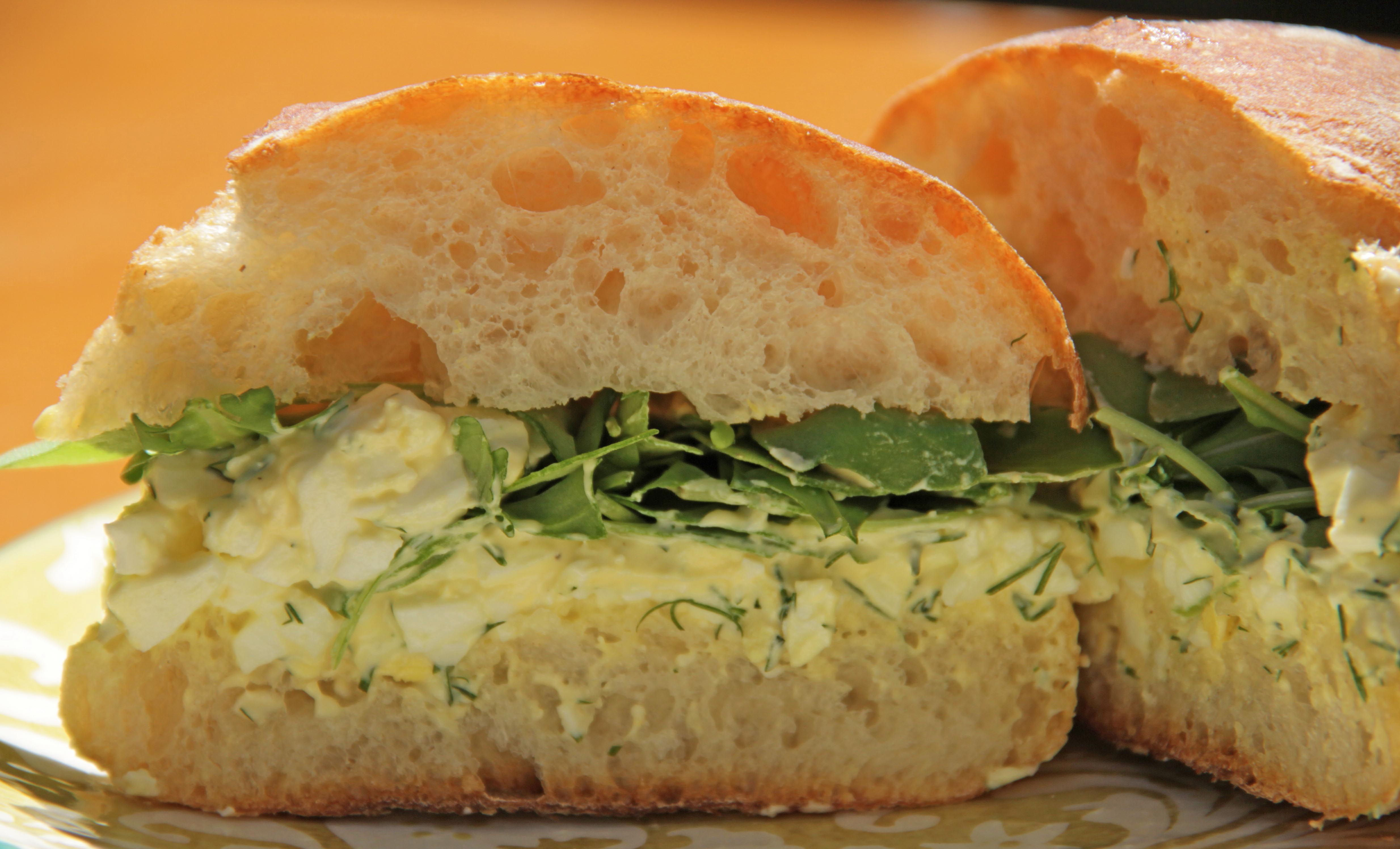 Egg Salad Sandwich 10