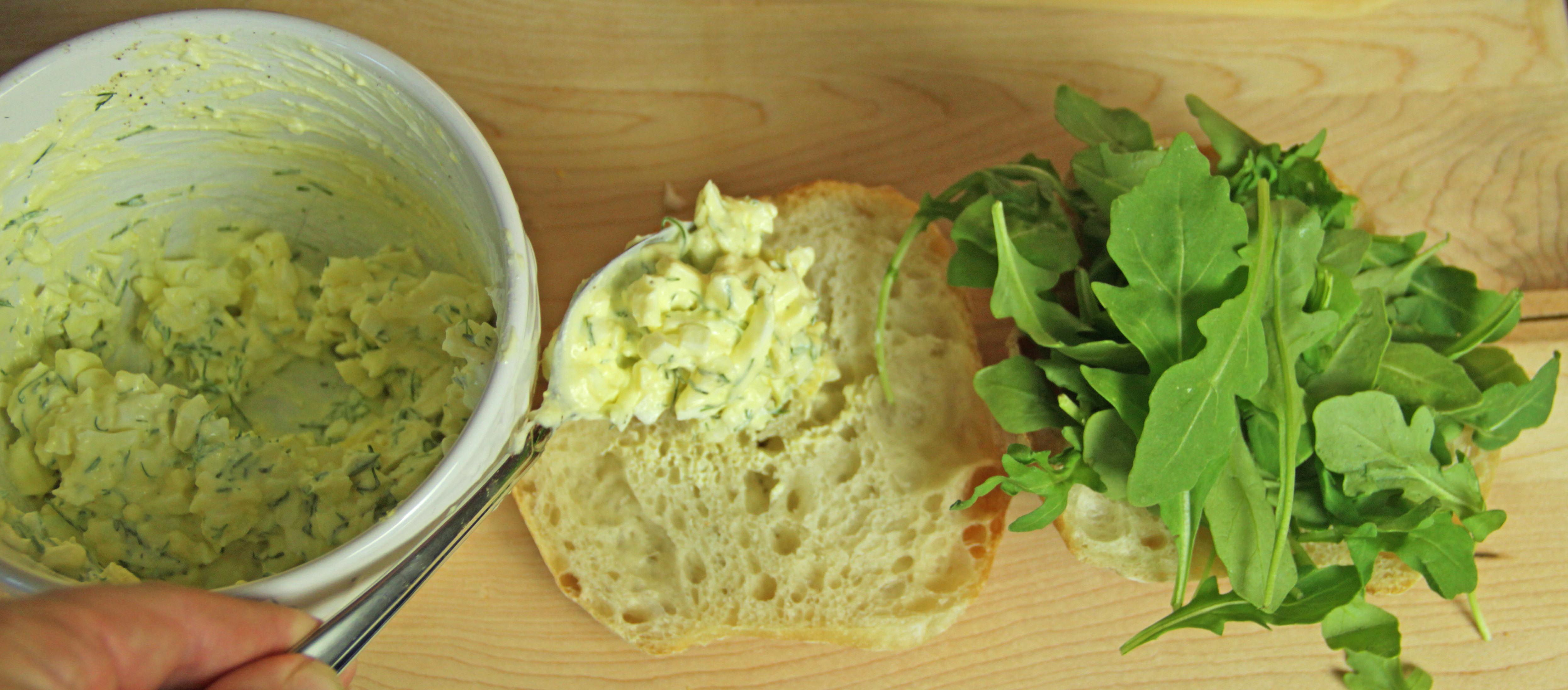 Egg Salad Sandwich 6