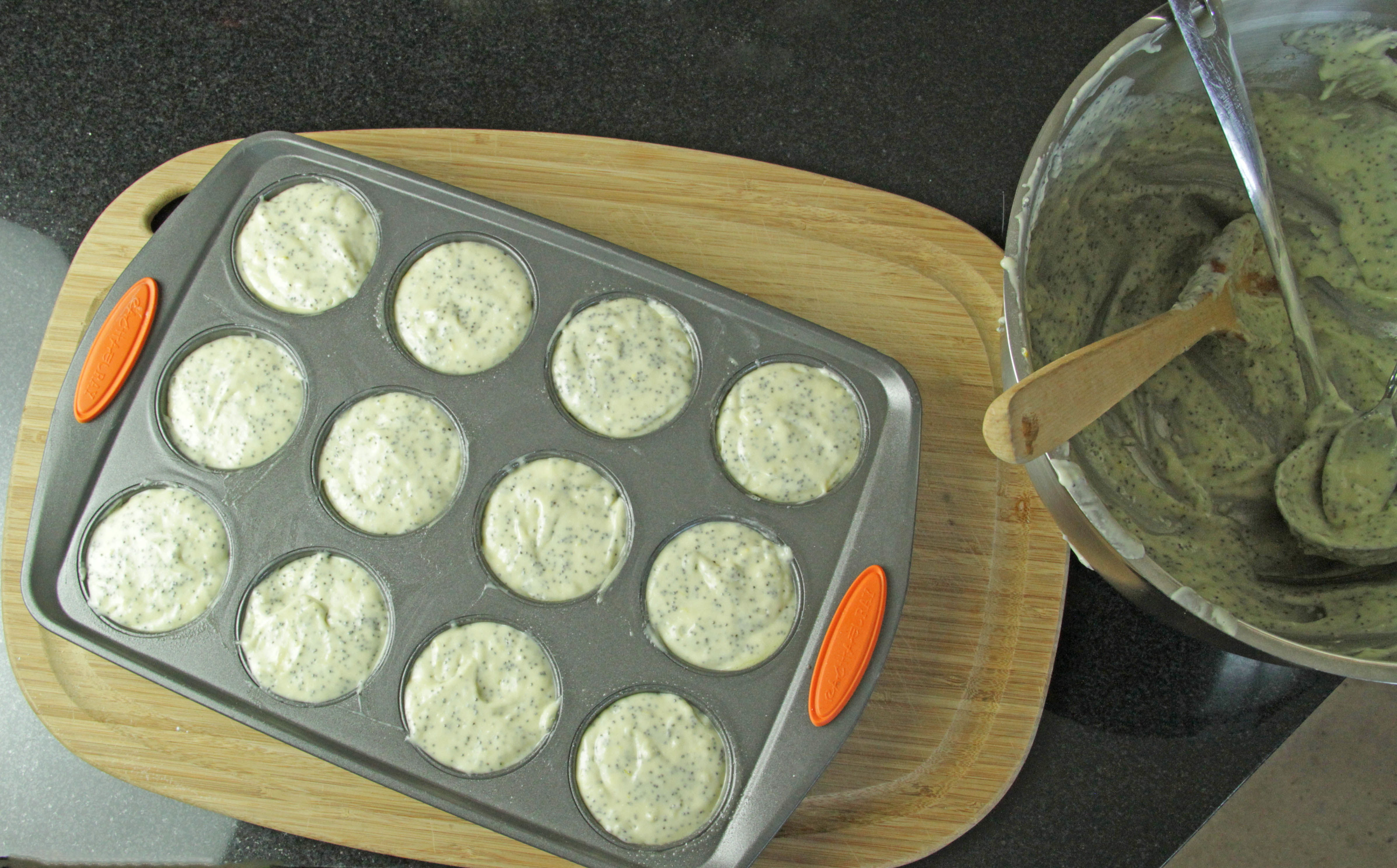 Lemon Poppy Seed Muffins 5