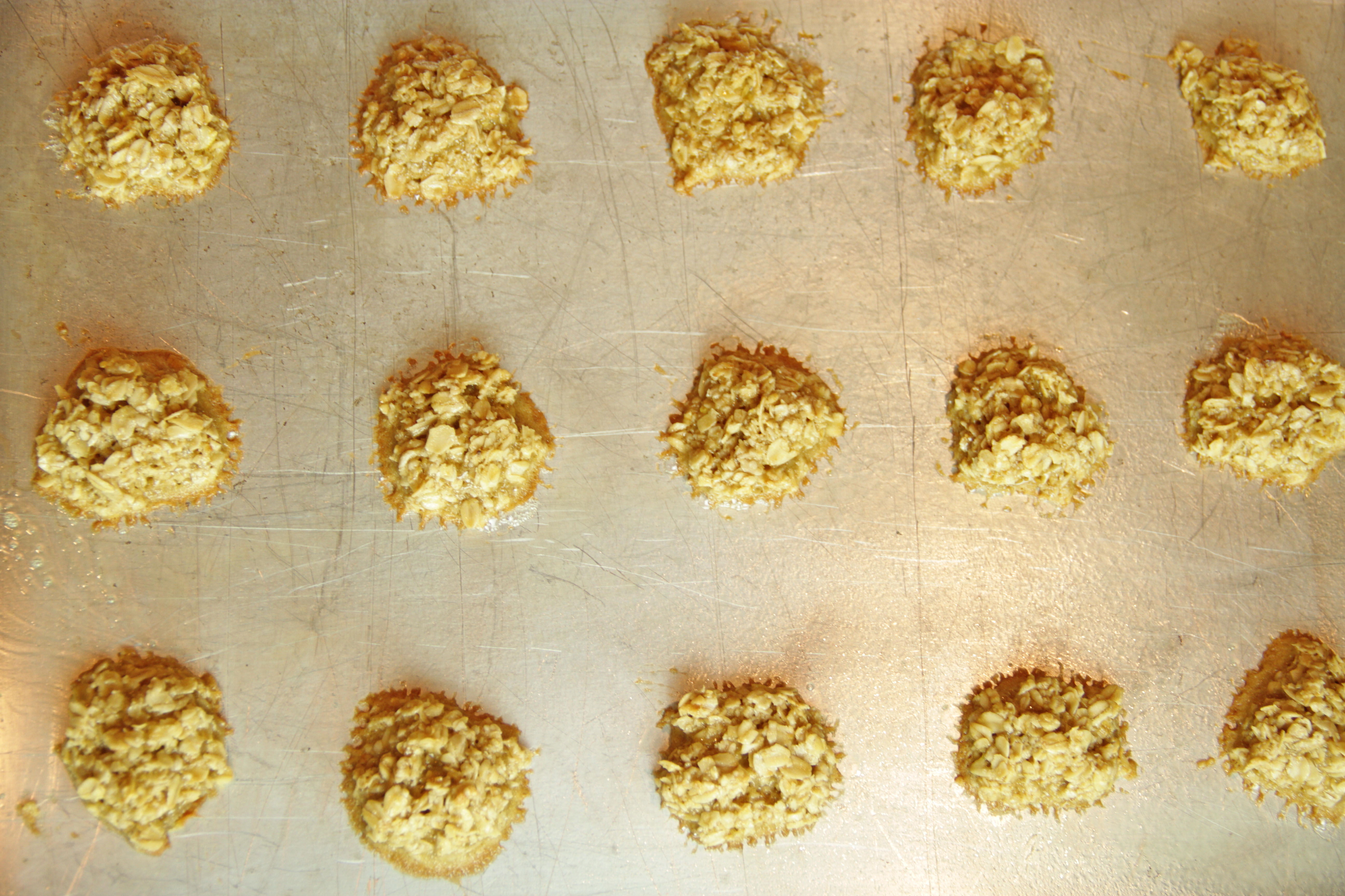 Oatmeal Lace Cookies 6