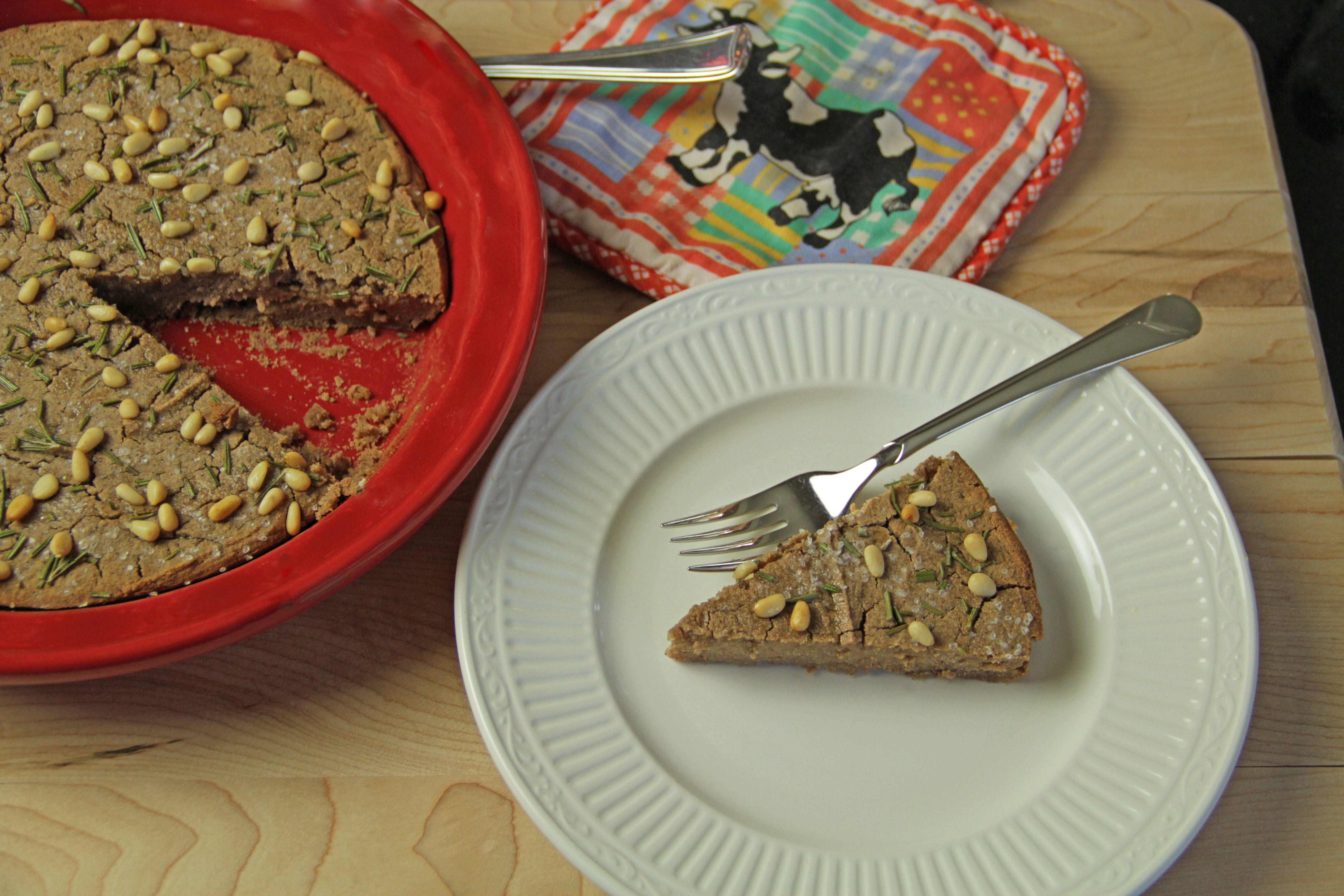 Corsican Chestnut Cake 9