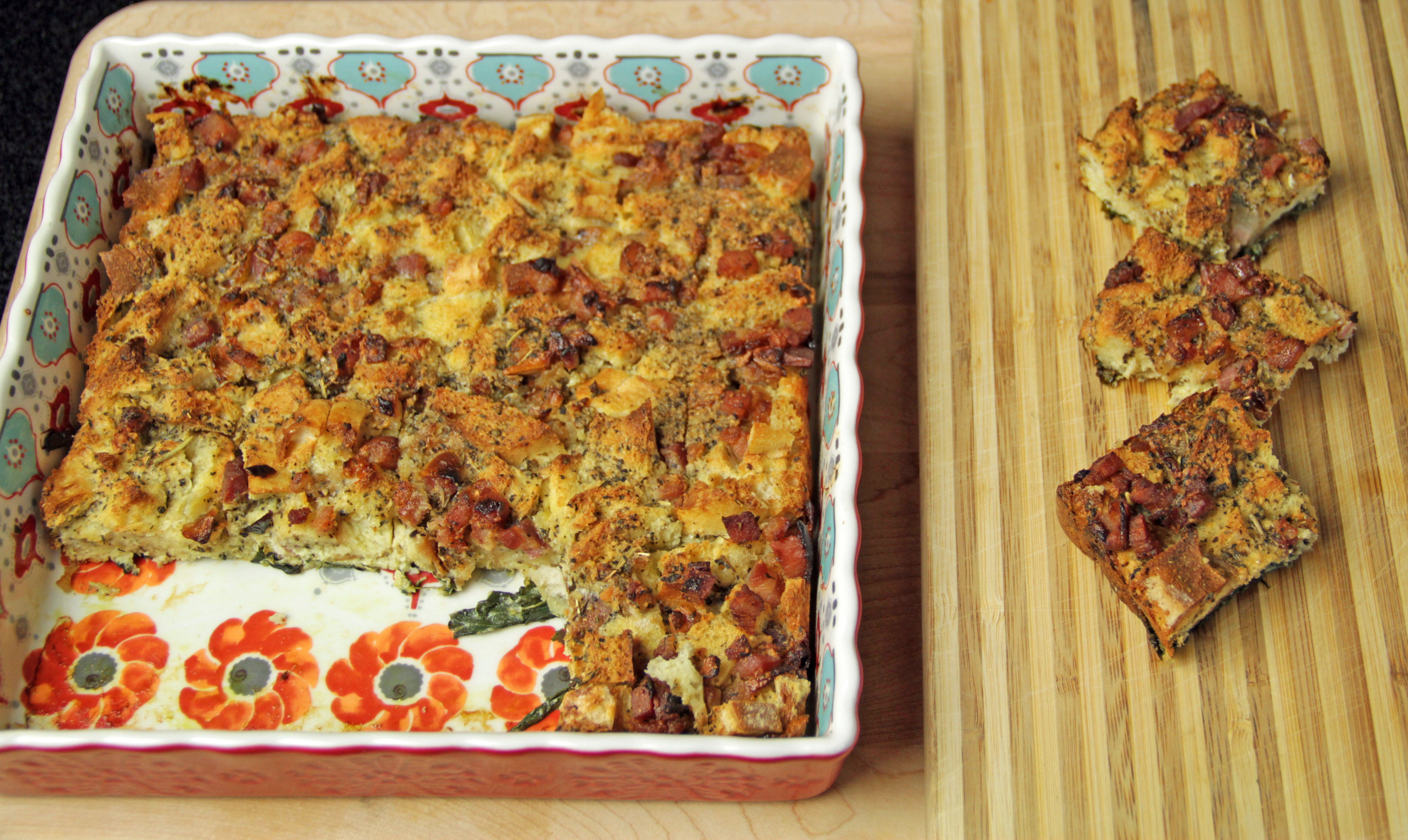 Pancetta Breakfast Bake 8