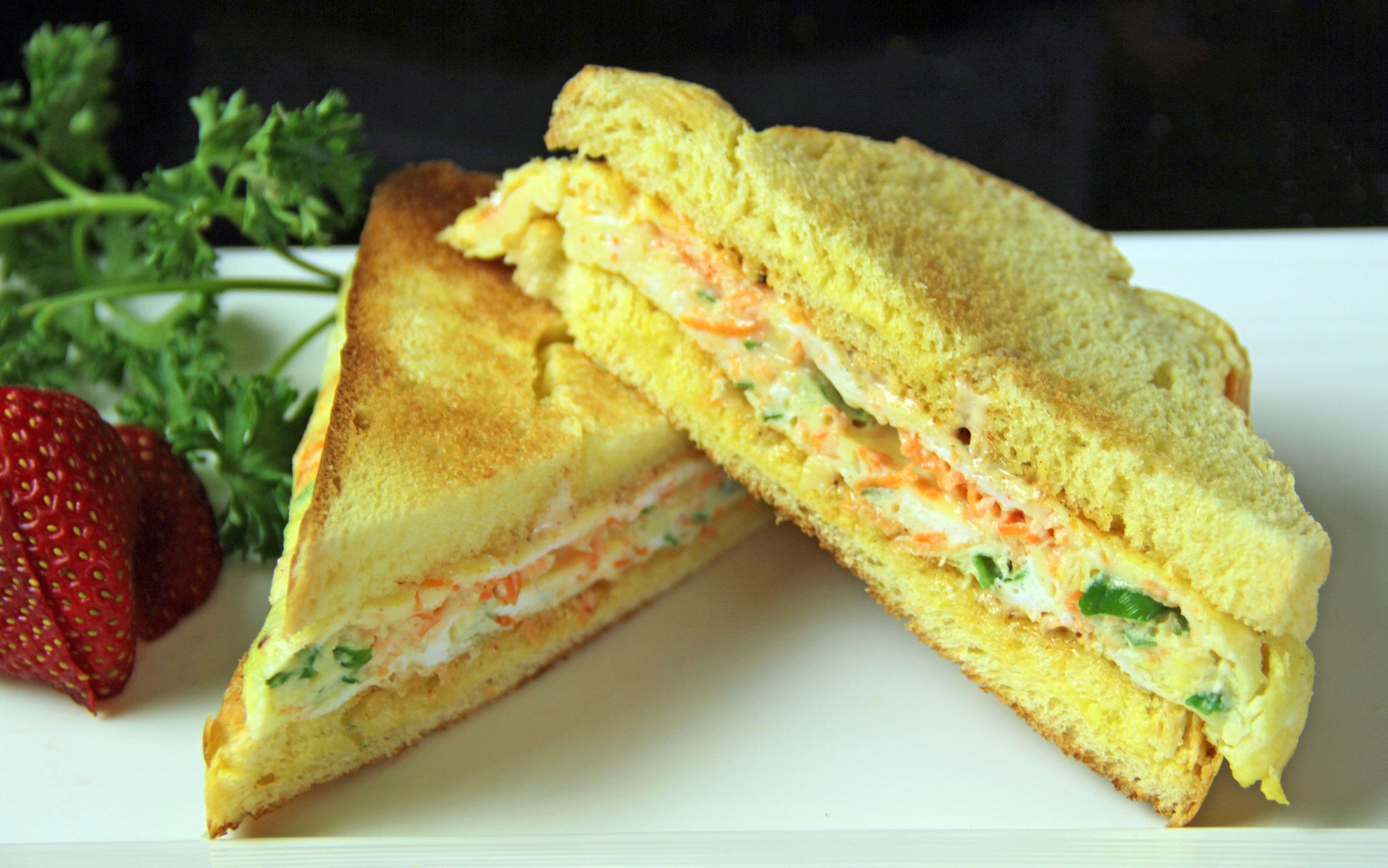 Omelet Sandwich 11