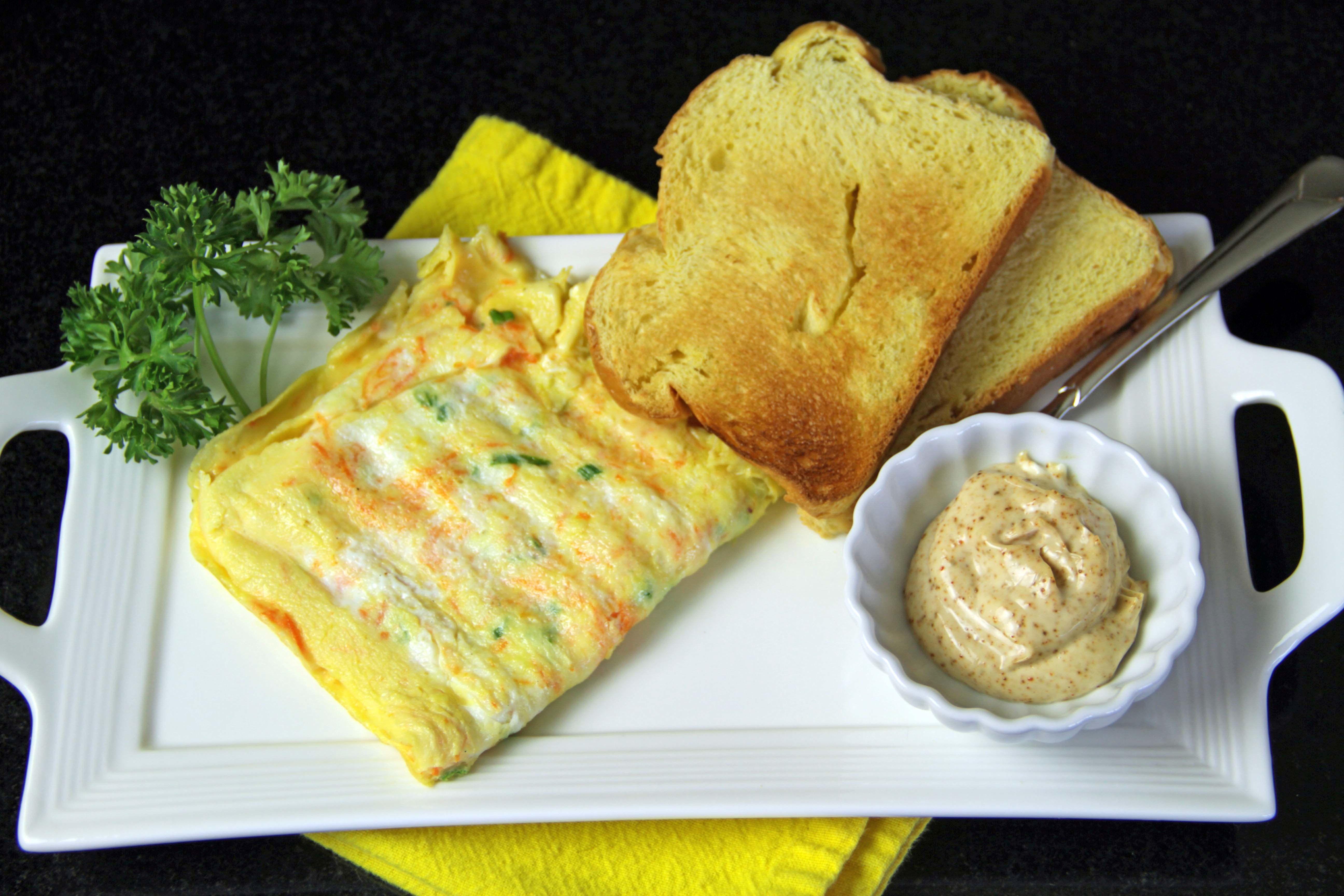 Omelet Sandwich 9