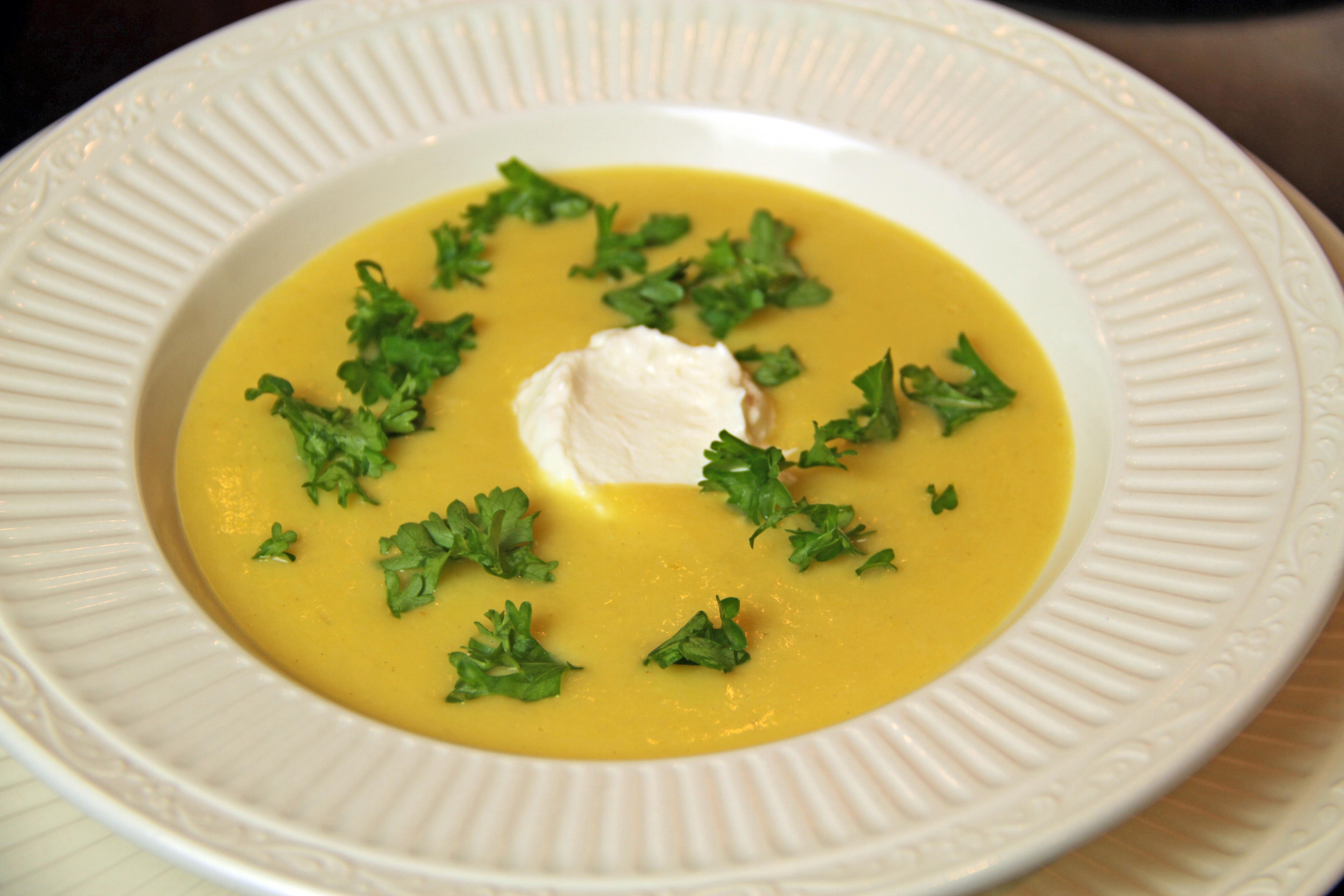 White Asparagus Cream Soup 10