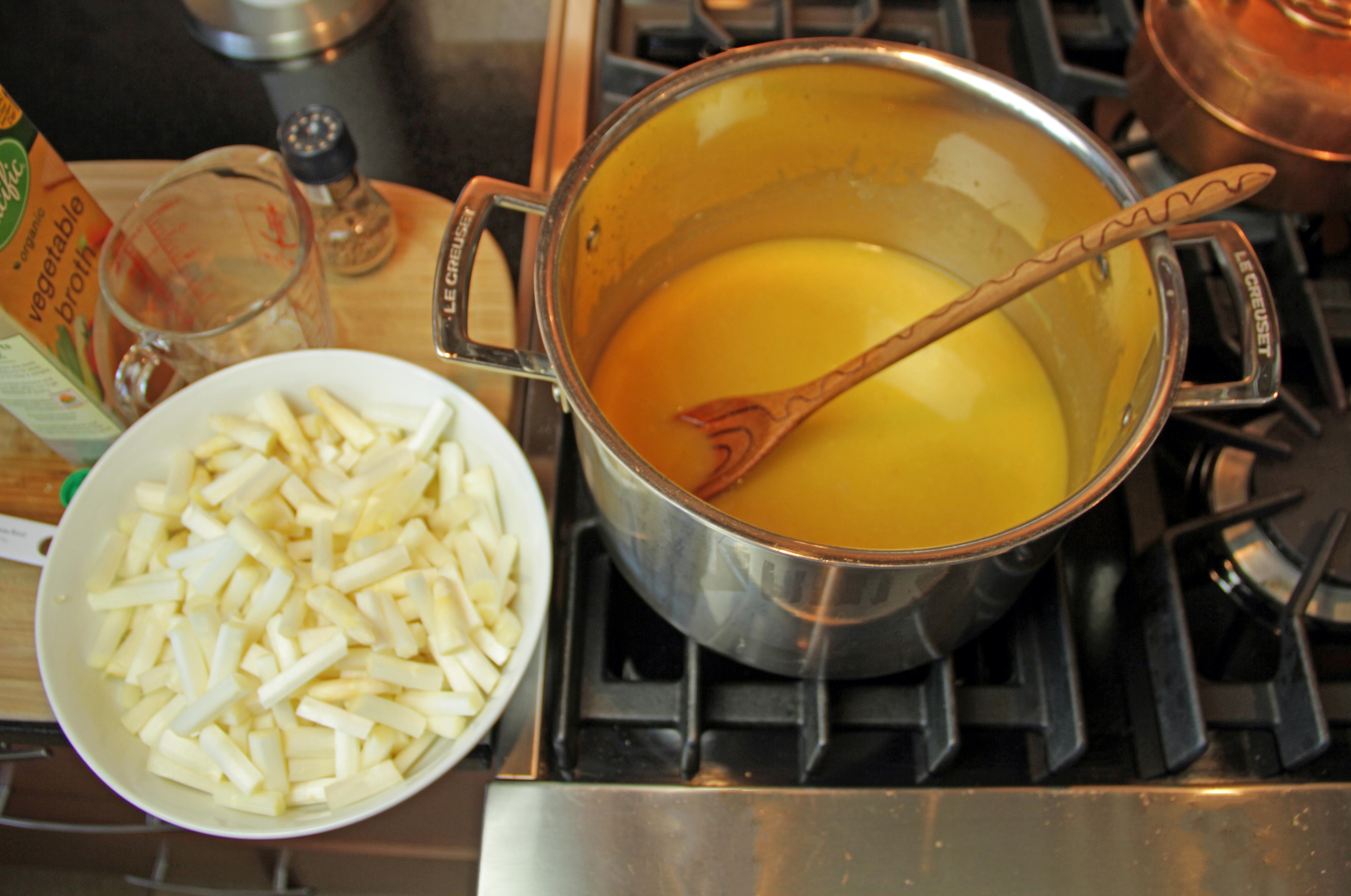 White Asparagus Cream Soup 5