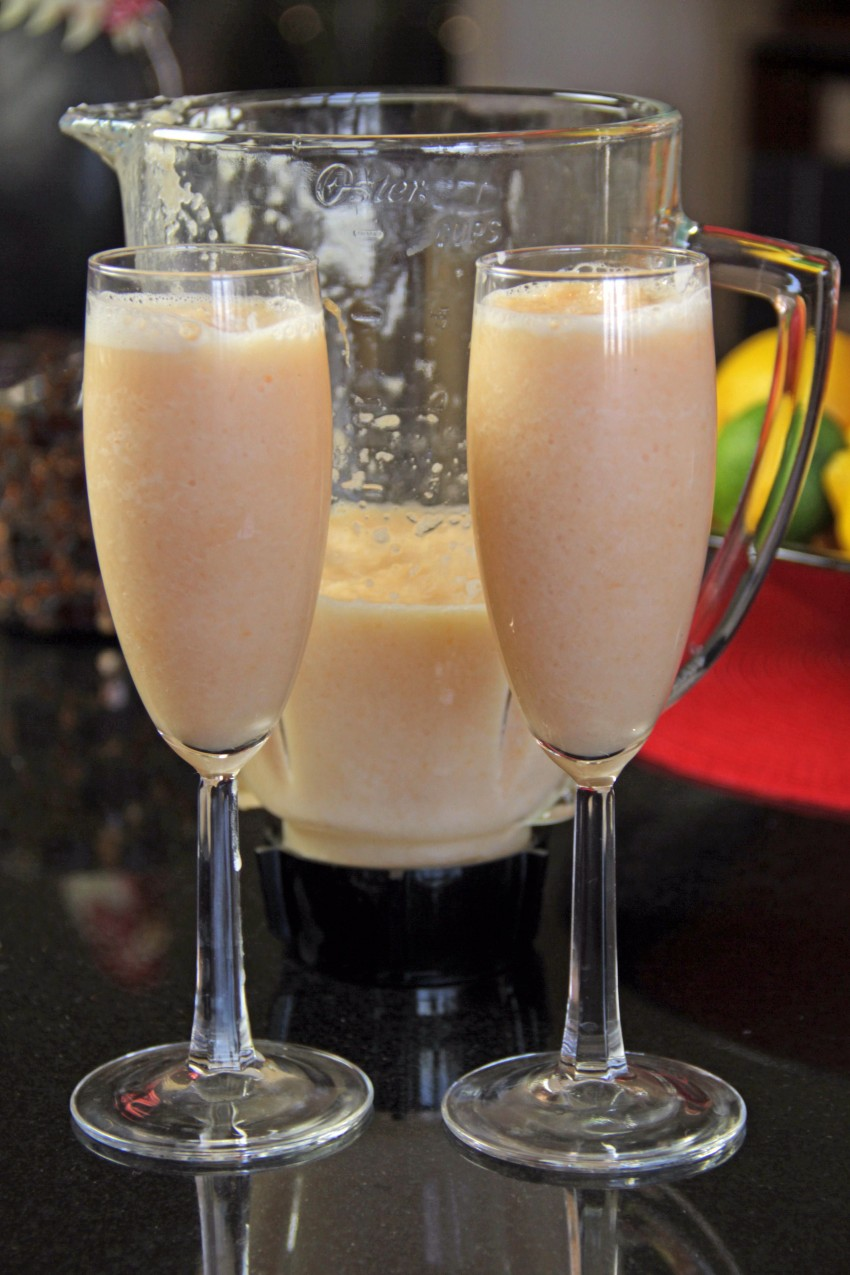 Melon Pear Smoothies 7