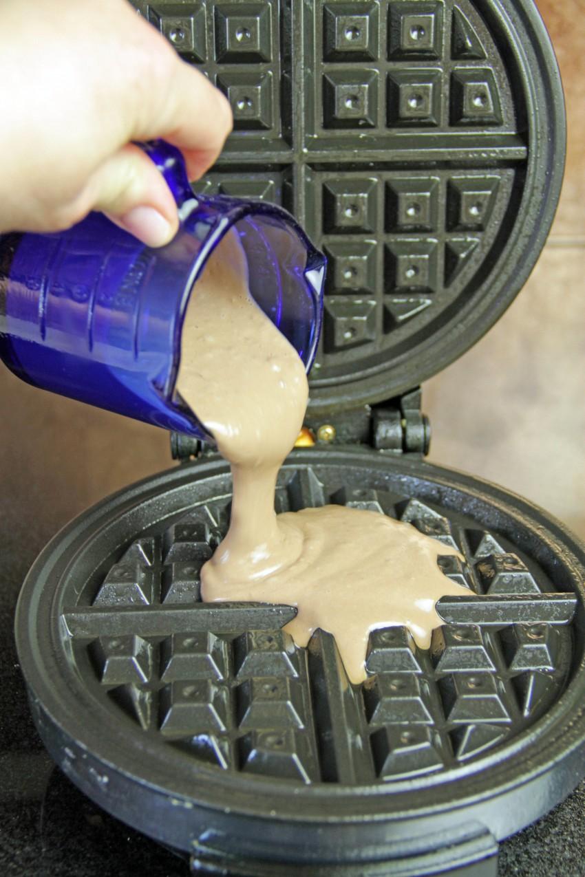 Chocolate Waffles 5