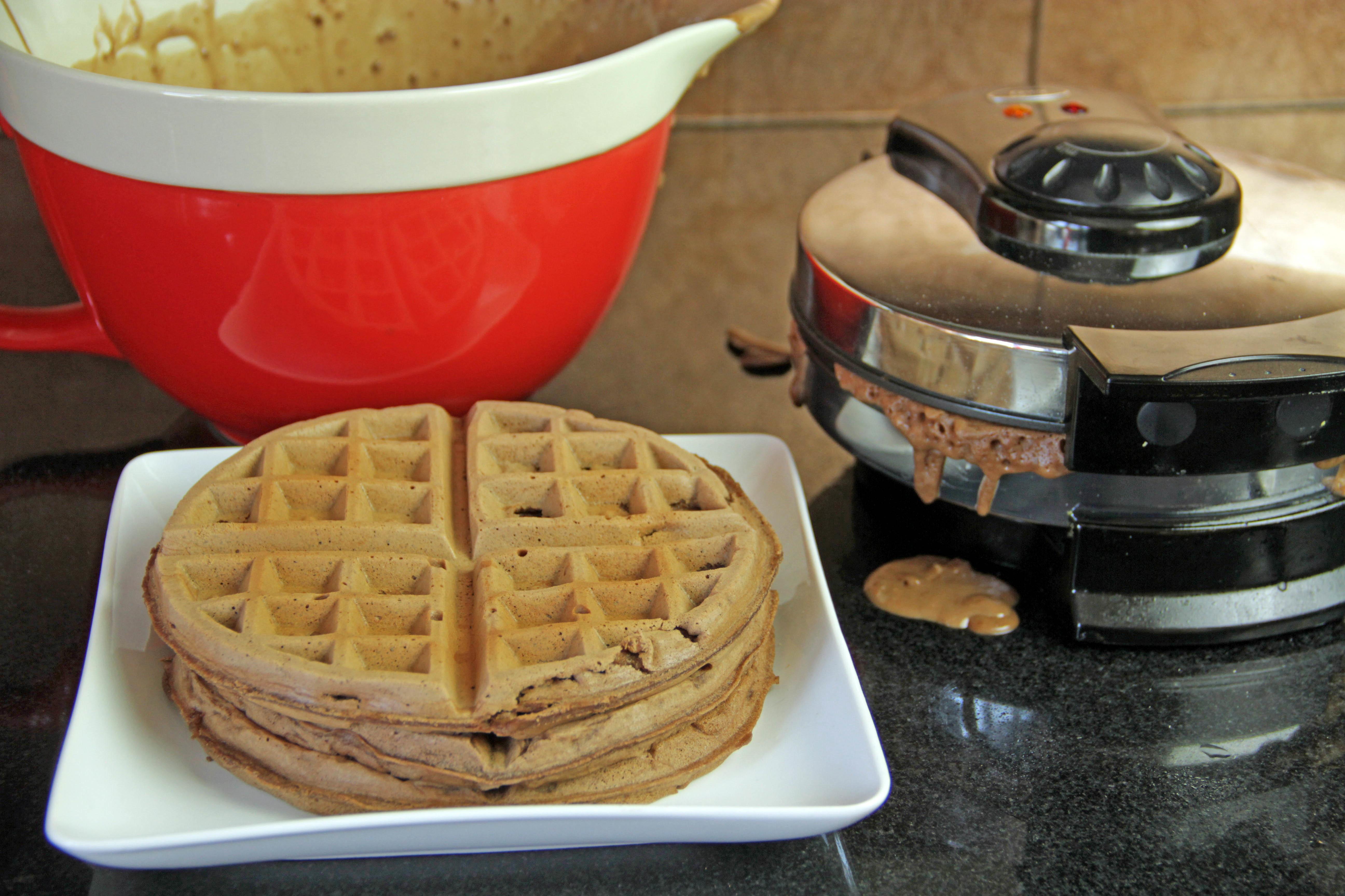 Chocolate Waffles 6