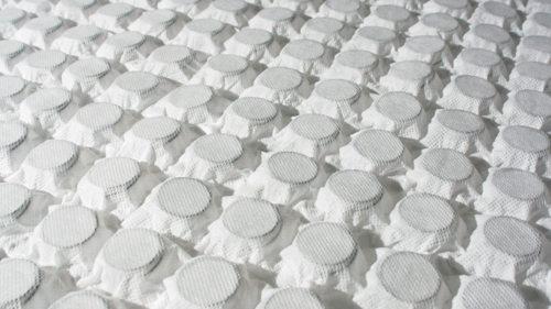 a photo of a sheet of nano springs